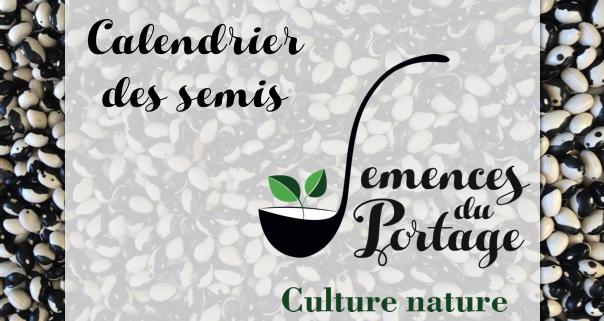 Calendrier des semis semences du portage - Calendrier des champignons comestibles ...